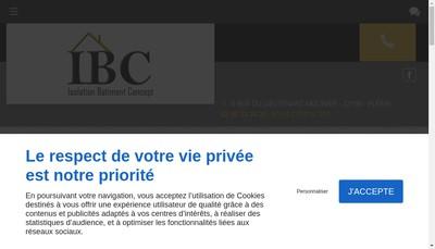 Site internet de Ibc