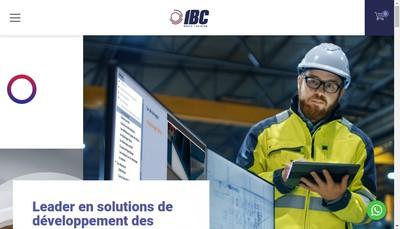 Site internet de Ibc Paper Training