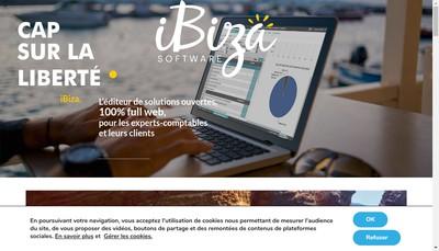Site internet de Ibiza Software