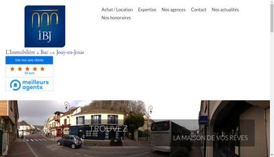 Site internet de Immobiliere de Buc