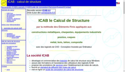 Site internet de Icab