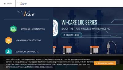 Site internet de I-Care SAS