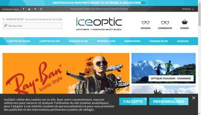 Site internet de L'Oeil du Mont Blanc