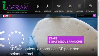Site internet de I Ceram
