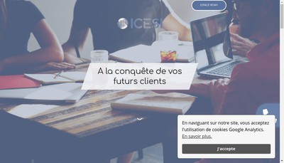 Site internet de Icesi