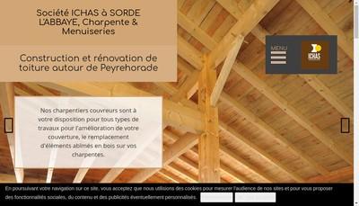 Site internet de Ichas SARL