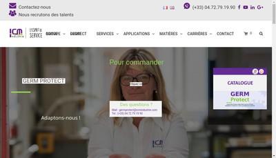 Site internet de Isosud Plastics