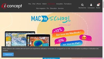 Site internet de Iconcept