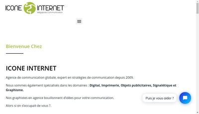 Site internet de Icone Internet