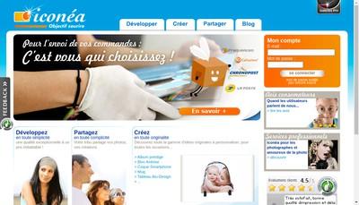 Site internet de Iconea Photo