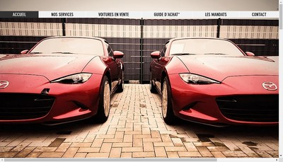 Site internet de Ics Auto