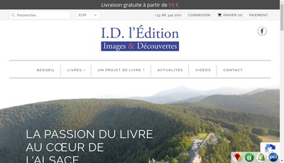 Site internet de Id l'Edition
