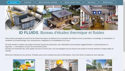 Site internet de Id Fluids