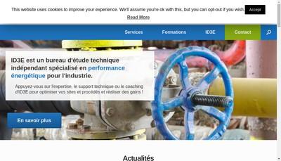 Site internet de Id3E