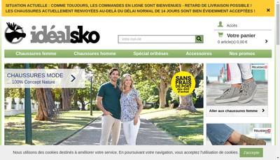 Site internet de Idealsko