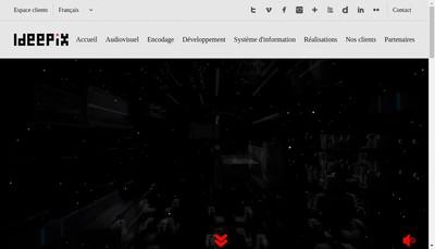 Site internet de Ideepix