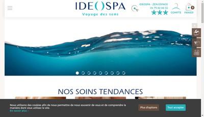 Site internet de Zen Espace