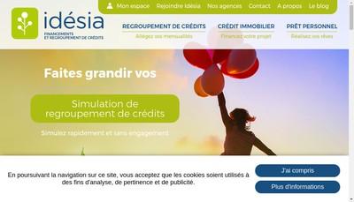 Site internet de Idesia