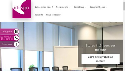 Site internet de I Design