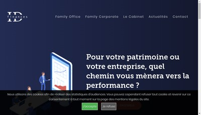 Site internet de Id Finances