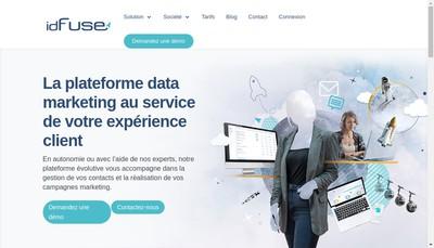 Site internet de Id Nova