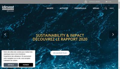 Site internet de Idinvest Growth Fund Ii Gp