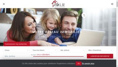 Site internet de Immobiliere de la Republique