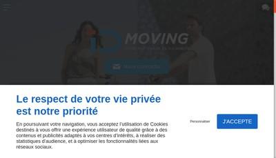 Site internet de Idmoving