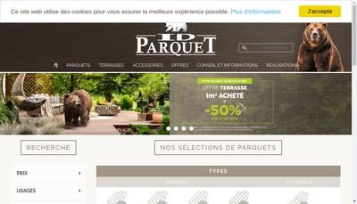 Site internet de Service Pose Parquet
