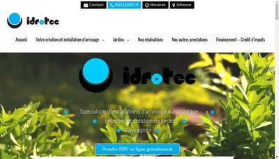 Site internet de AA Idrotec