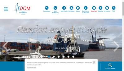 Site internet de Institut Emission Departements Outre Mer