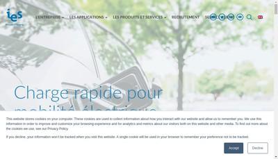 Site internet de Intelligent Electronic Systems