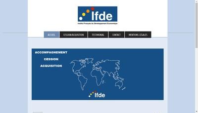 Site internet de Ifde
