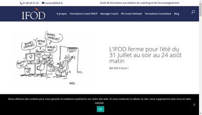 Site internet de Ifod