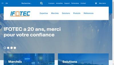Site internet de Ifotec