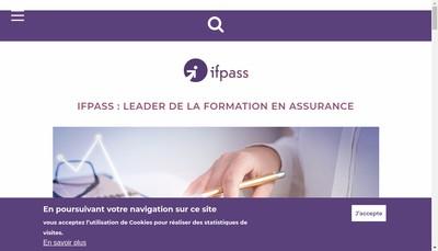 Site internet de Ifpass Services