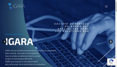 Site internet de Igara