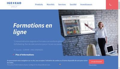 Site internet de See Electrical