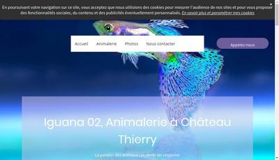 Site internet de Iguana 02