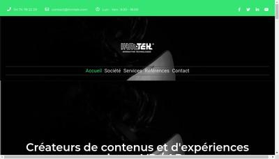 Site internet de Ihmtek