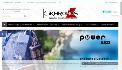 Site internet de Ikhronos