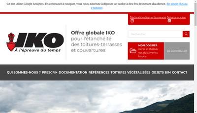 Site internet de Iko