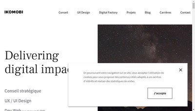 Site internet de Ikomobi