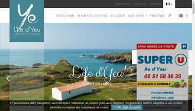 Site internet de Les Chopes Yeu