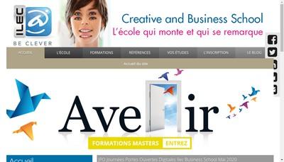 Site internet de Ilec International