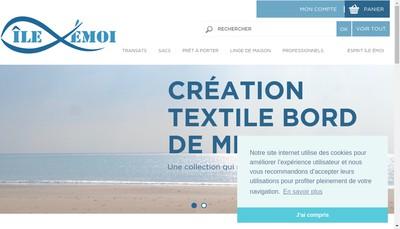Site internet de Ile Emoi