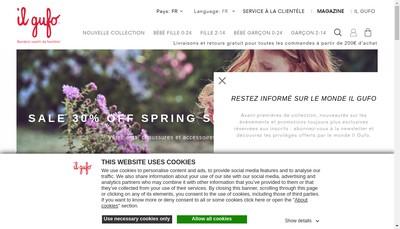 Site internet de Il Gufo