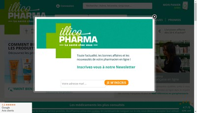 Site internet de Pharmacie Nesme