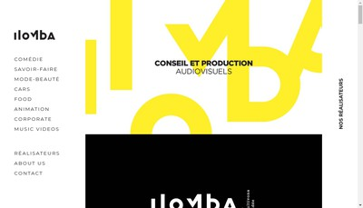 Site internet de Ilomba Images