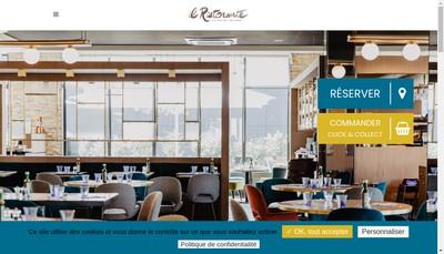 Site internet de Il Ristorante